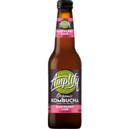 Photo of Amplify Organic Kombucha Raspberry Lime