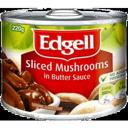 Photo of Edgell Mushrooms Sliced (220g)