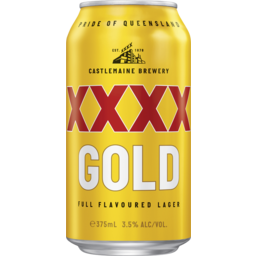 Photo of XXXX Gold Can