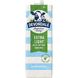 Photo of Devondale Skim Milk 1l