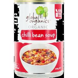 Photo of Global Organics Soup Chilli Bean 400gm