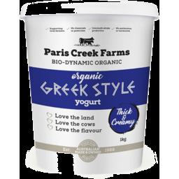 Photo of Paris Creek Farms Greek Plain Yogurt