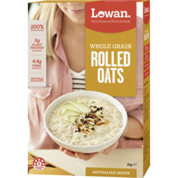 Photo of Lowan Traditional Rolled Oats 1kg