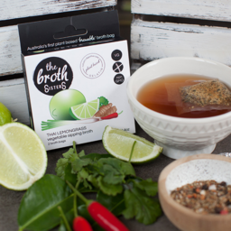 Photo of The Broth Sisters Sipping Broth - Thai Lemongrass