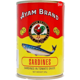 Photo of AYAM BRAND SADINES IN TOMATO SAUCE 425G