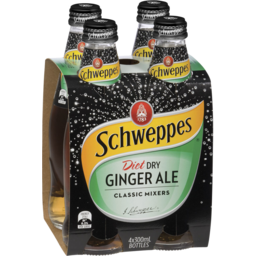 Photo of Schw Diet D/Gngr Ale 4x 300ml