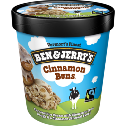 Photo of Ben & Jerrys Cinnamon Buns 458ml
