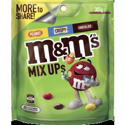 Photo of M&M's Mix Ups Chocolate Large Bag 305g