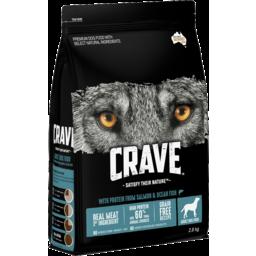 Photo of Crave Dry Dog Food Salmon & Ocean Fish 2.8kg Bag
