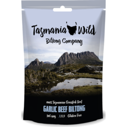 Photo of Tasmania Wild Biltong Company Garlic Beef 40gm