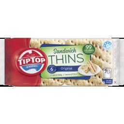 Photo of Tip Top® Sandwich Thins Original 6x240g