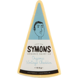 Photo of Symons Organic Vintage Cheddar