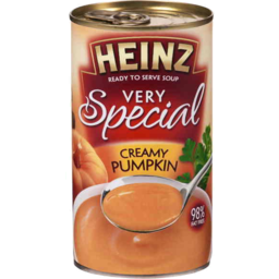 Photo of Heinz Very Special Creamy Pumpkin Soup 98% Fat Free 535gm