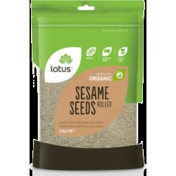 Photo of Lotus Sesame Seeds (White - Hulled)