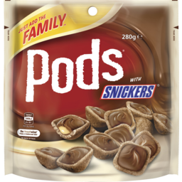 Photo of Snickers Pods Chocolate Large Bag 280g