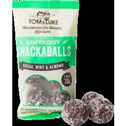 Photo of Tom & Luke Cacao, Mint & Almond Snackaballs 70gm