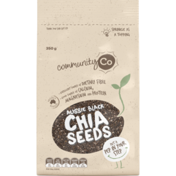 Photo of Community Co Chia Seed Black 350gm