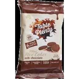 Photo of Taple Of Plenty Dark Milk Chocolate Mini Rice Cakes 84gm