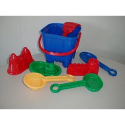 Photo of Sandcastle Beach Bucket Set