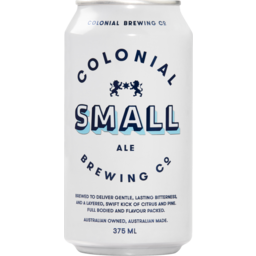 Photo of Colonial Small Ale Can