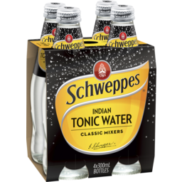Photo of Schweppes Tonic Water 4x300ml