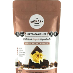 Photo of Monday Food Co Cake Mix Peanut Butter Chocolate 250g
