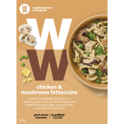 Photo of Weight Watchers Chicken & Mushroom Fettuccine 300g