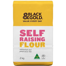 Photo of Black & Gold Self Raising Flour 2kg
