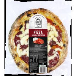 Photo of Bake Stone Deli Pizza Salami & Mozzarella 400gm
