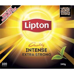 Photo of Lipton Tea Bag Intense Black Tea 100 Pack 240g