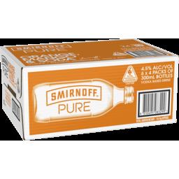 Photo of Smirnoff Pure Orange, Mango & Soda Stubbies