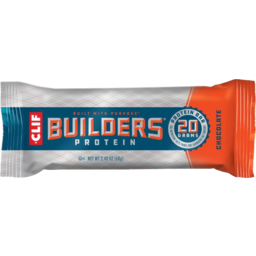 Photo of Clif Chocolate Builders Protein Bar 68g