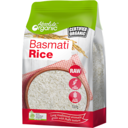 Photo of Absolute Organic Basmati Rice 700g