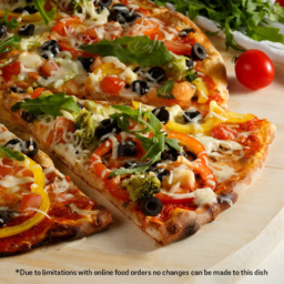 Photo of Vegetarian Pizza