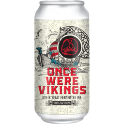 Photo of 8 Wired Once Were Vikings IPA 440ml