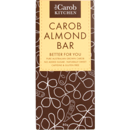 Photo of The Carob Kitchen Carob Almond Bar 80g