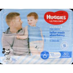 Photo of Huggies Junior Boys 30