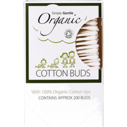 Photo of Simply Gentle Organics Cotton Buds 200 Pieces