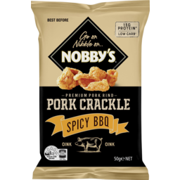 Photo of Nobby's Pork Crackle Spicy BBQ 50g