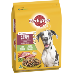 Photo of Pedigree Medium Adultdry Dog Food With Real Beef 8kg Bag
