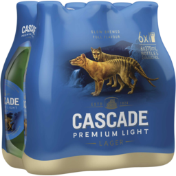 Photo of Cascade Premium Light 6 X 375ml Bottles 2.4%