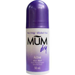 Photo of Mum R/On Deod Dry Active 50ml