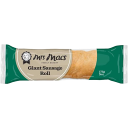 Photo of Mrs Macs Microwave Sausage Roll 175g