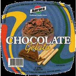 Photo of Aurora Gelato Chocolate 2 Litre
