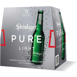 Photo of Steinlager Pure Light 330ml Bottles 12 pack