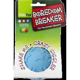 Photo of Vitapet Dog Toys, Boredom Breaker Giggle Ball