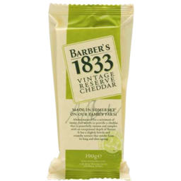 Photo of Barbers 1833 Vintage Cheddar