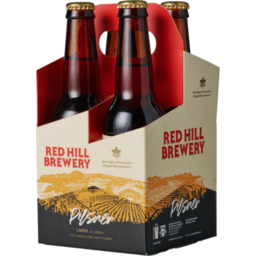 Photo of Red Hill Brewery Pilsner 4pk