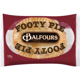 Photo of Balfours Footy Pie