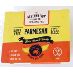 Photo of Alternative Dairy Co. Vegan Cheese Parmesan 200g